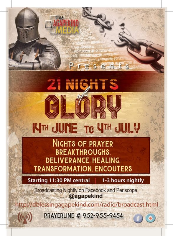 21 Nights of Glory | Bible Series+