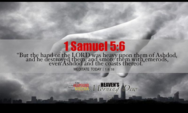 Hand of God, Come Upon Me!
